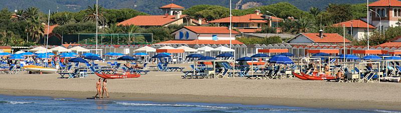 Forte dei Marmi - Strand